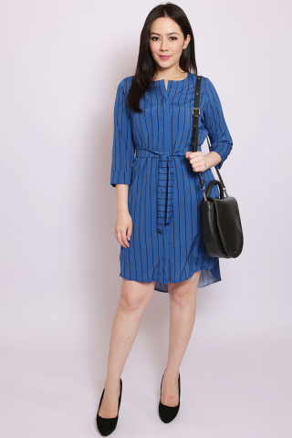Isobel Shirtdress in Blue (Tall)