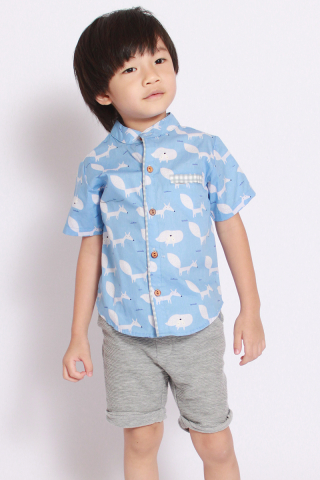 Annie Shirt in Cheeky Fox (Little Boy)