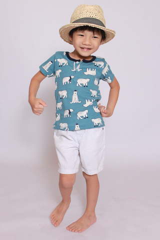 I See a Polar Bear Tee (Little Boy)