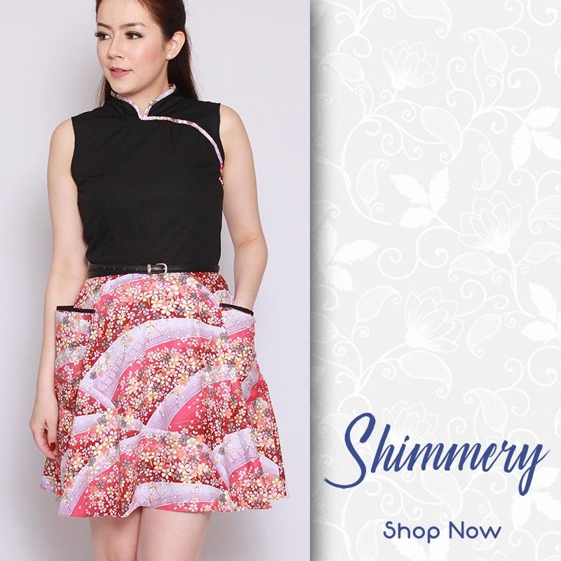 Shimmery