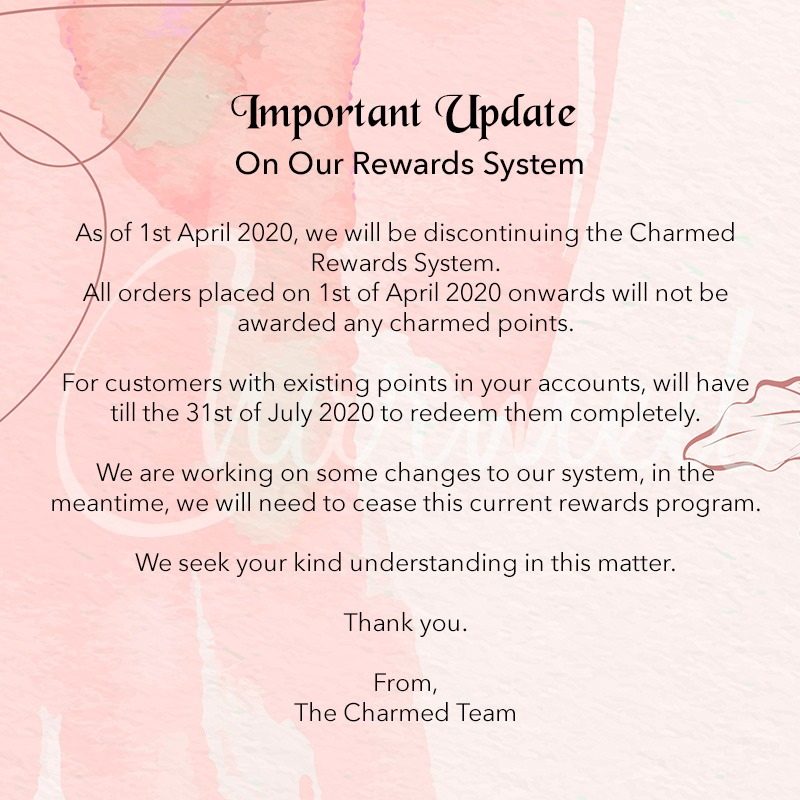 Charmed Points Discount