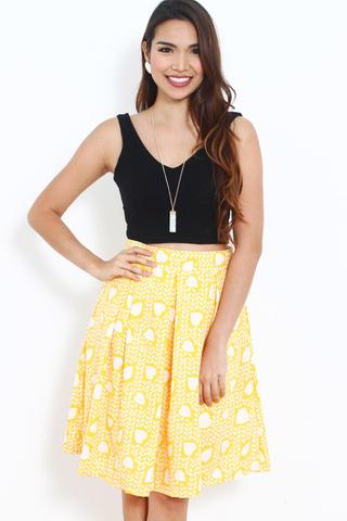 Dancing Skirt In Lemony