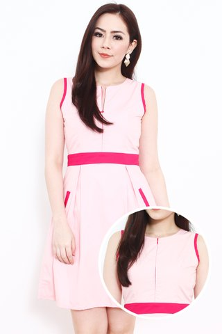 Vicky Colourblock in Pink