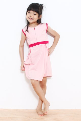 Vicky Colourblock in Pink (Baby Charm)