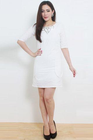 Emily Powder Shift Dress
