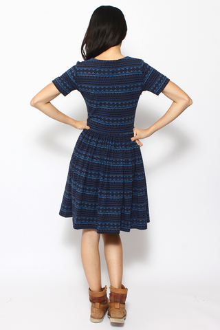 PlayDate | Navy Tribal Dress