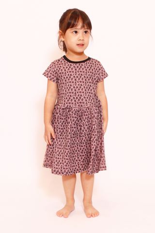 PlayDate | Dusty Rose Little Dress