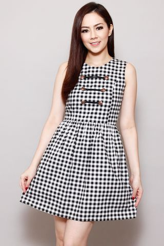 Delicate Military in Gingham