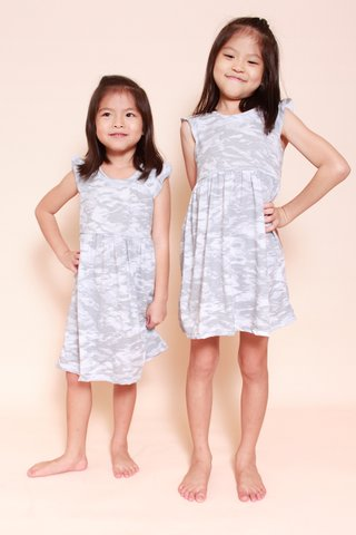 PlayDate | Camo Stone Dress  (Girls)