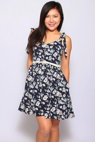 Eleonore Merry Dress in navy