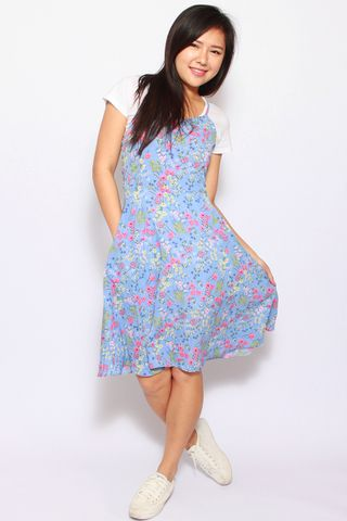 Ambre Summer Dress in Pretty  (Tall)