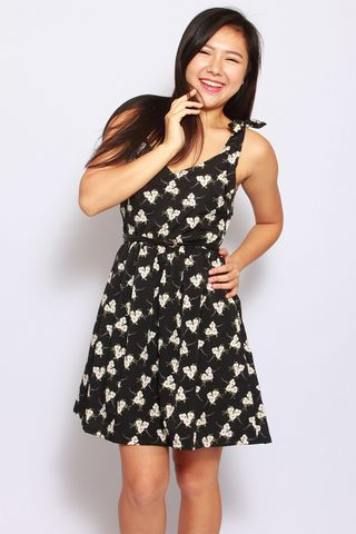 Eleonore Merry Dress in Black