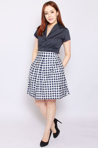 Valance Skirt in Gingham