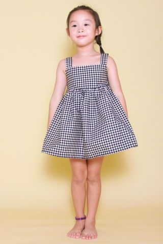 Audrey Dress in Gingham (Little Girl)
