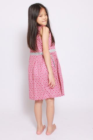 Paudia Shirtdress in Brilliance (Little Girl)