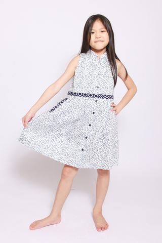 Paudia Shirtdress in Sweetness (Little Girl)