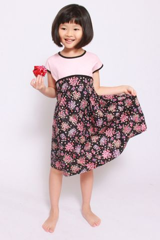 Josie Pink Dress (Little Girl)