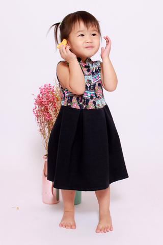 Playdate | Edna Orient in Aztec (Little Girl)