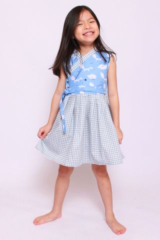 Annie Hanbok in Cheeky Fox (Little Girl)