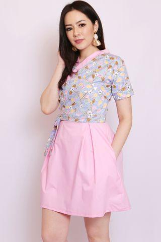 So-Yi Hanbok In Floral Batik