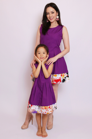 Brooke in Purple (Little Girl)