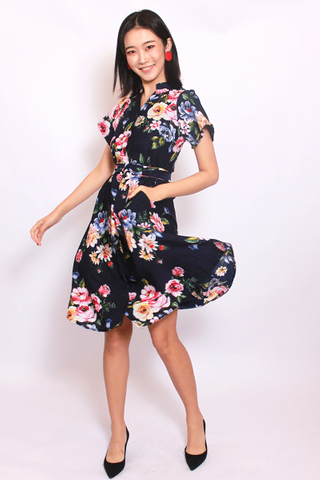 Painted Floral (Midi) - Easycare