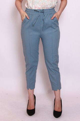 Charlotteton Pants in Dusty Blue
