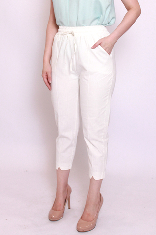 Charlotteton Pants in White