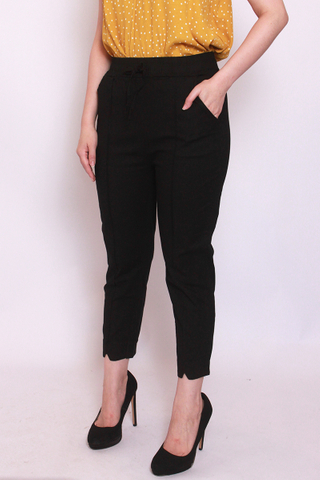 Charlotteton Pants in Black