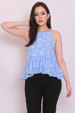 Eden Top in Sky Blue