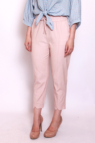 Charlotteton Pants in Dusty Pink