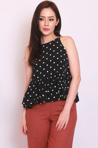 Eden Top in Black