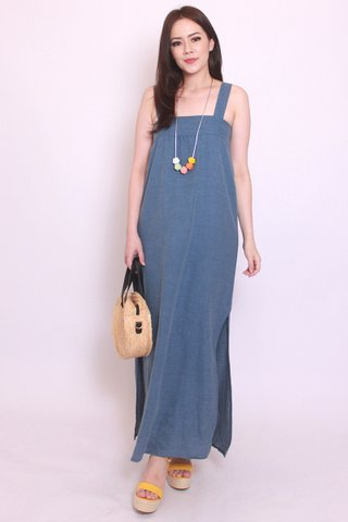 Luana Linen in Light Wash (Maxi)