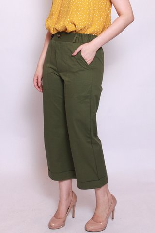 Jodie Pants in Moss