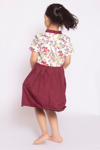 Wine & Flowers Hanbok (Girls) - (Tall)