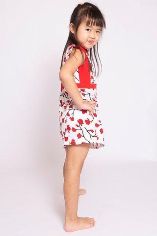 Red Poppy Orient (Girls) - Easycare