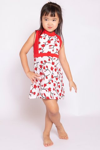 Red Poppy Orient (Girls) - Easycare