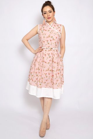 Lorie Orient in Blush (Tall) - Easycare