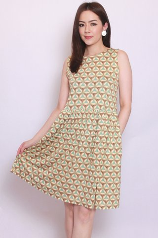 River Dress in Retro