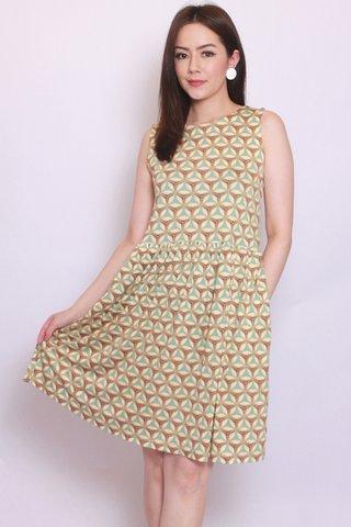 River Dress in Retro