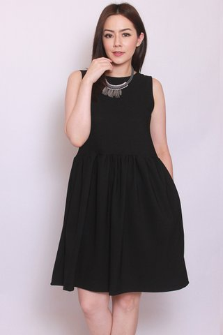 River Dress in Black