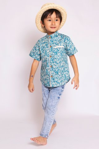 Fang Shirt in Sweet Peach (Boys)