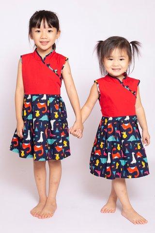 Dino Danger Dress (Girls)