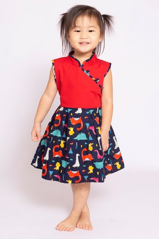 Dino Danger Dress (Girls)