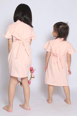 Fang Oriental in Sweet Peach (Girls) - Easycare