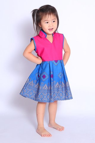 Sherry Batik Dress (Girls)