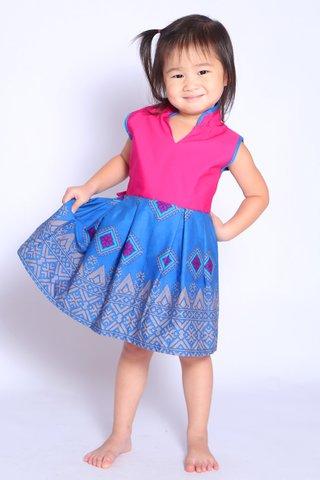 Sherry Batik Dress (Girls)
