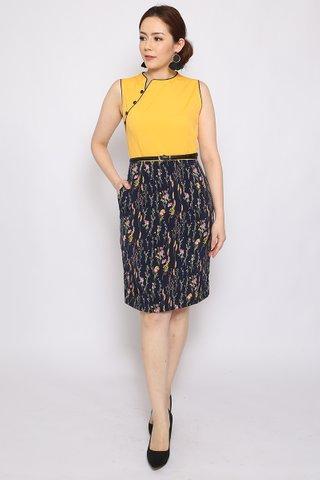 Henrietta Sheath in Daffodil (Tall) - Easycare
