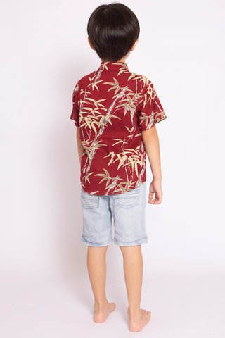 Showstopper Shirt in Wine (Boys)