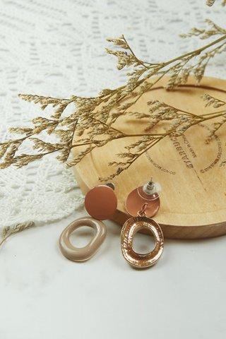Nut Brown Earrings (Small)